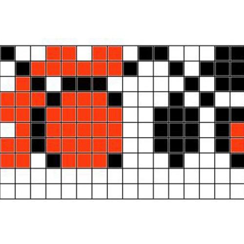 """Бесплатная схема для вышивки крестом """"Орнамент 89"""""""