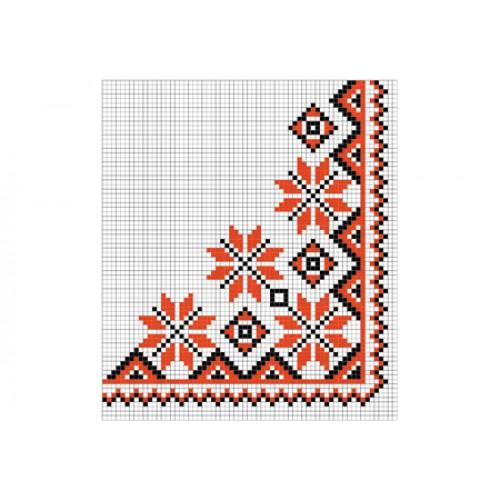 """Безкоштовна схема для вишивки хрестиком """"Орнамент 90"""""""