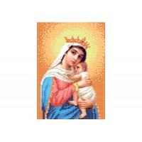 """""""Божья матерь Отчаянных последняя надежда"""" - Схема для вышивки бисером иконы"""