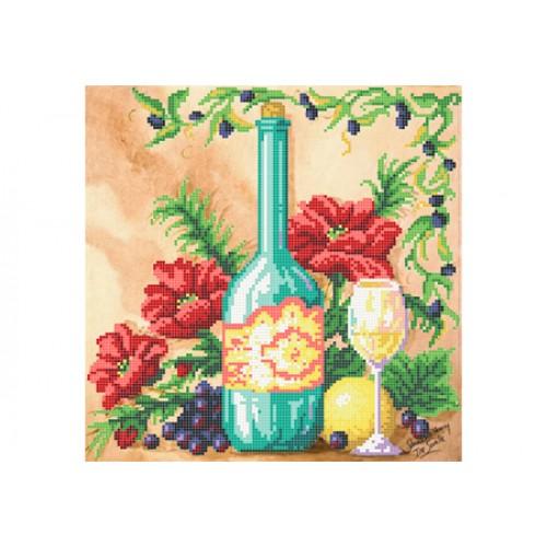 """Схема для вишивки бісером """"Натюрморт з виноградом"""""""