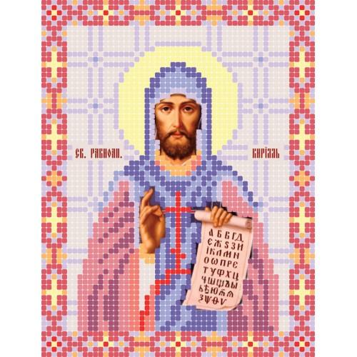 """Схема для вишивки бісером ікони """"Святий Кирилл"""""""