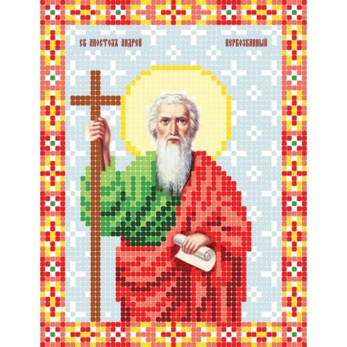"""Схема для вышивки бисером иконы """"Святой апостол Андрей"""""""