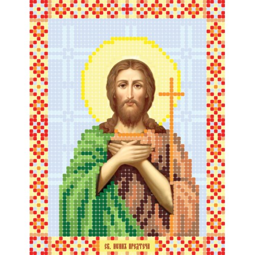 """Схема для вышивки бисером иконы """"Святой Иоан Предтеча"""""""