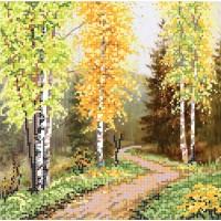 """""""Осінь у горах"""" - Схема для вишивки бісером"""