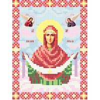 """""""Божья матерь Покрова А5"""" - Схема для вышивки бисером иконы"""