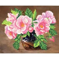 """""""Дикі троянди"""" - Схема для вишивки бісером"""