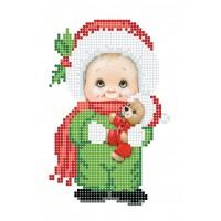 """""""Новорічний подарунок"""" - Схема для вишивки бісером"""