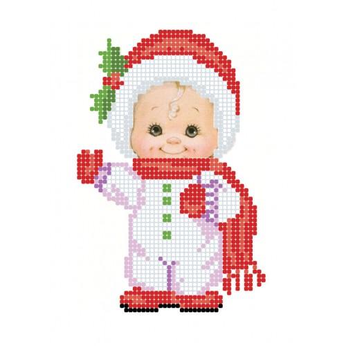 """Схема для вышивки бисером """"Новогодняя радость"""""""