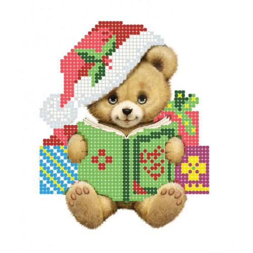 """Схема для вышивки бисером """"Медвежонок"""""""