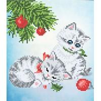 """""""Кошенята"""" - Схема для вишивки бісером"""
