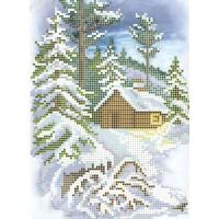"""""""Зимняя прогулка"""" - Схема для вышивки бисером"""