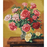 """""""Букет троянд"""" - Набір для вишивання хрестиком"""