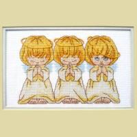 """""""Хор ангелов"""" - Набор для вышивки крестом"""