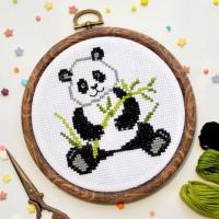 """""""Панда"""" - Набор для вышивки крестом"""