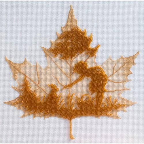 """Набор для вышивки """"Осенний силуэт"""""""