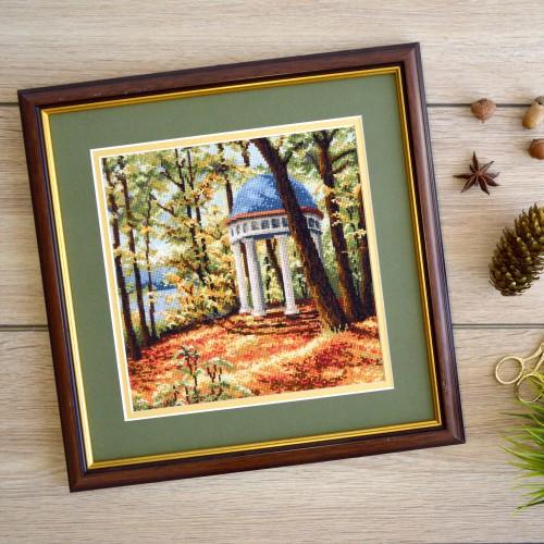 """Набор для вышивки крестом """"Осенний парк"""""""