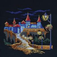 """""""Ночная крепость"""" - Набор для вышивки крестом"""