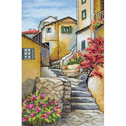 """Набір для вишивання хрестиком """"Італійські сходи"""""""