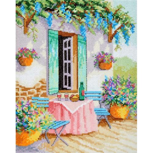 """Набір для вишивання хрестиком """"Весняний сад"""""""